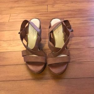 Jessica Simpson Wedge Heels